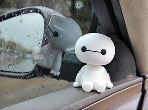 Baymax Shaking Head Car Accessories