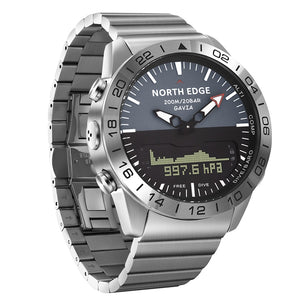 NORTH EDGE Men Military Dive Sports Digital Smart Watch