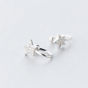 Little Star Non Piercing Clip Ear Cuff Plated  Earring