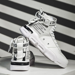High-Top Designer Sneakers