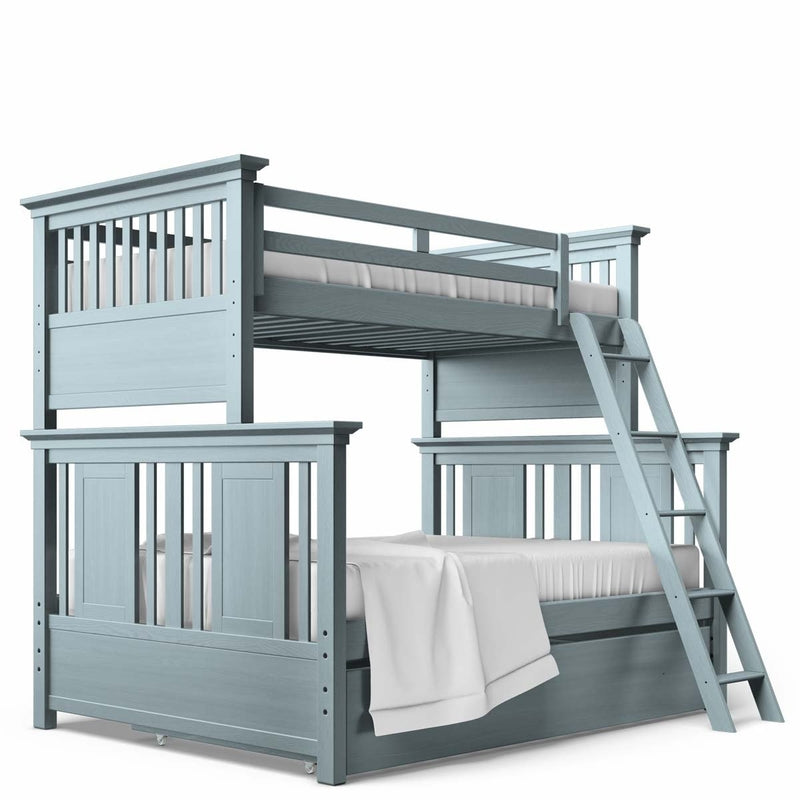 Karisma Twin Full Bunk Bed By Romina Furniture Made In Europe