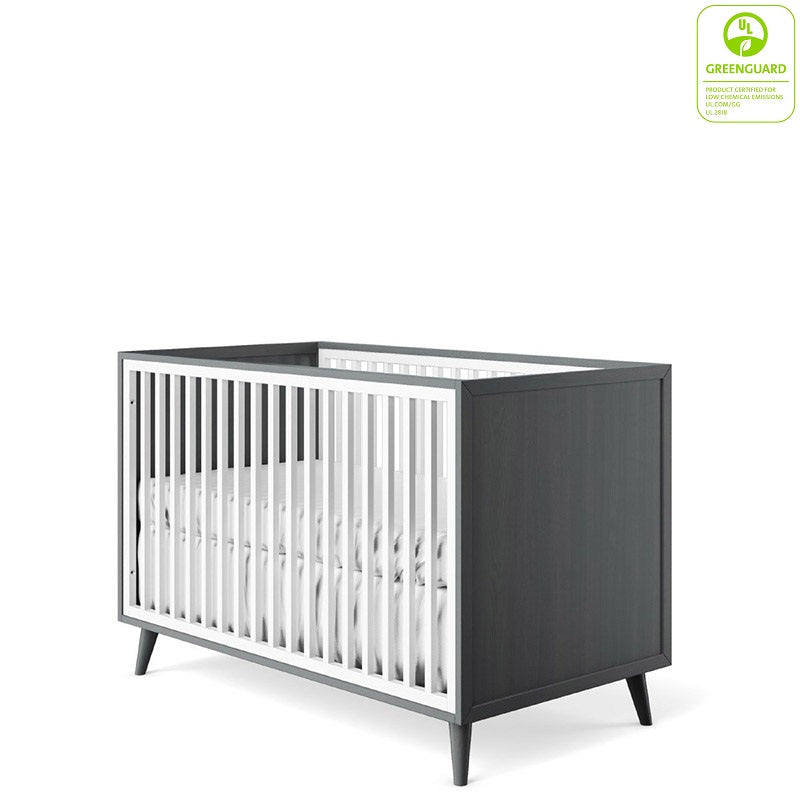 New York Crib By Romina Furniture Solid Wood Baby Furniture Non Toxic Finish