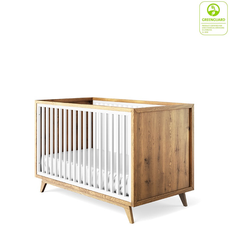 Uptown Classic Crib By Romina Furniture Baby Safe Greenguard Gold Certified