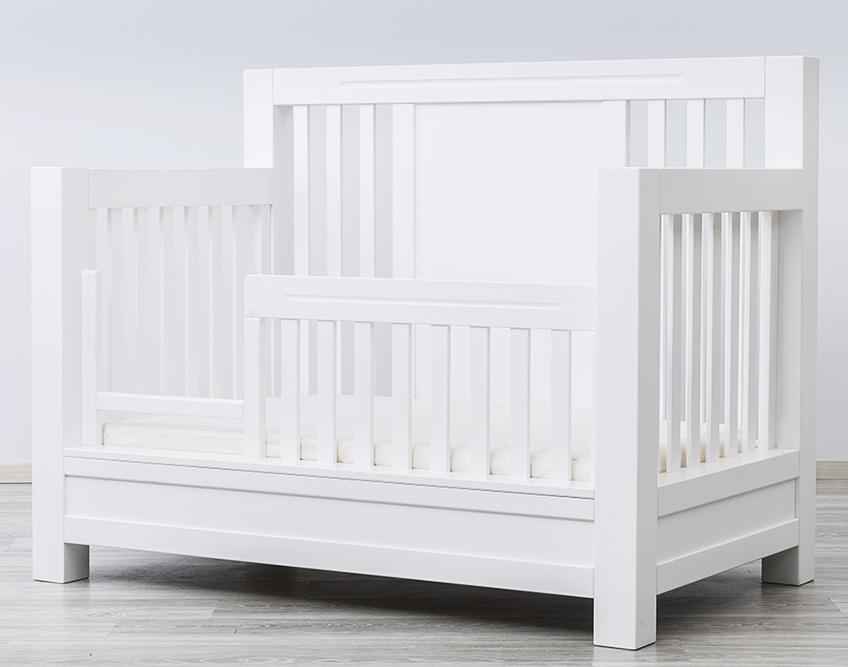 Ventianni Toddler Rail For Convertible Crib By Romina Furniture Baby Safe