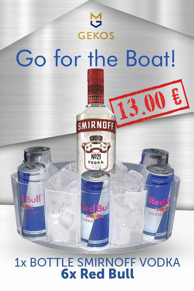 Smirnoff Vodka with Red Bull