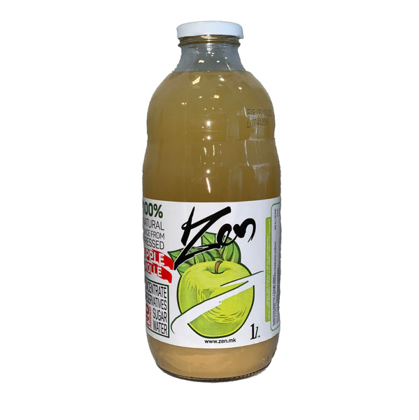 ZEN DRINK APPLE 1L GLASS