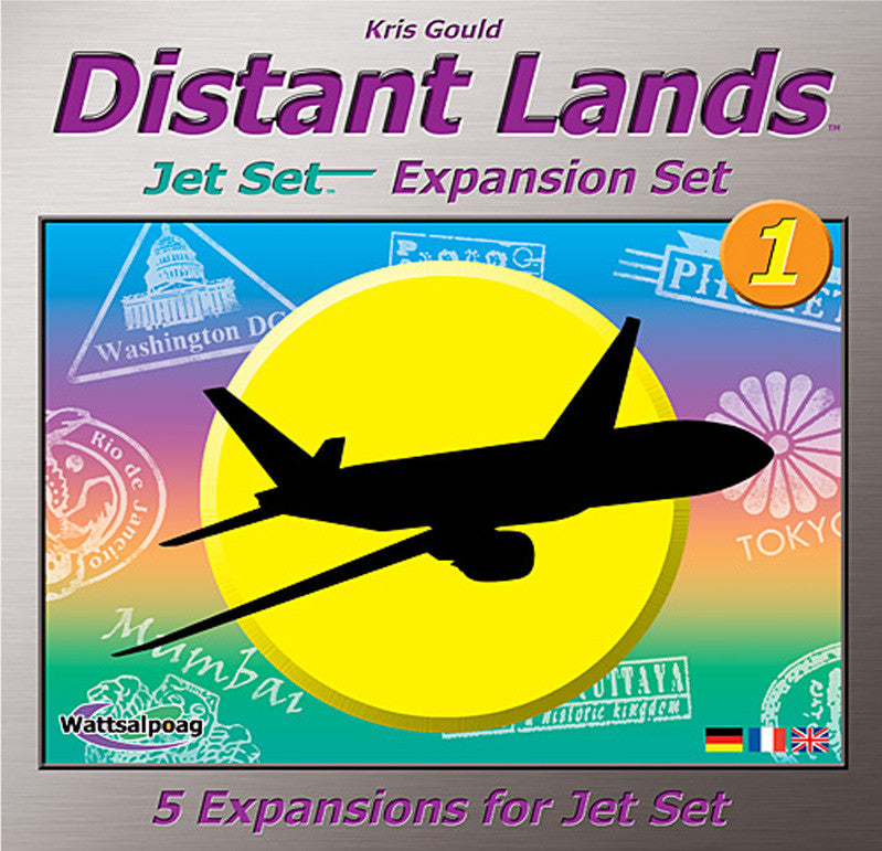 Distant Lands: Jet Set Expansion Set #1