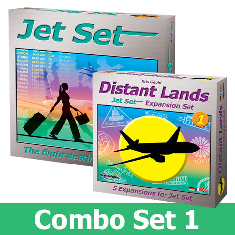 Jet Set Combo #1 - Jet Set & Distant Lands