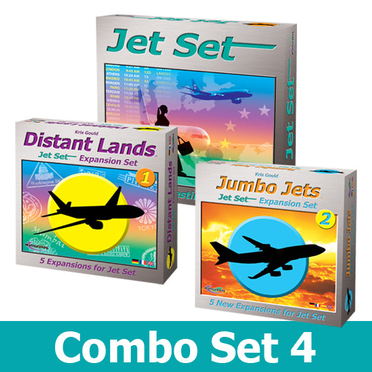 Jet Set Combo #4 -   Jet Set, Distant Lands & Jumbo Jets