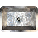STAINLESS STEEL MOSAIC KITCHEN SINK