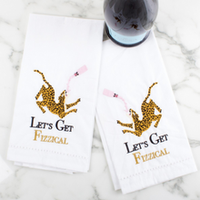 Load image into Gallery viewer, 2-Pack Bar Towel Set - Leopard