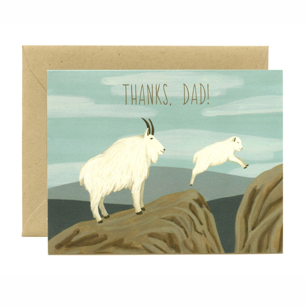 Thanks Dad Card