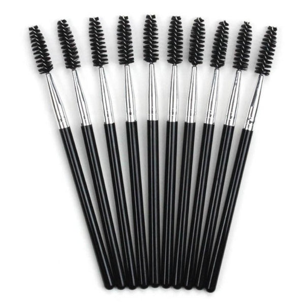 10PC/pack Eyelash Extension Eyebrow Brush