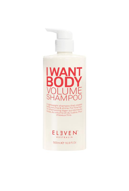 I Want Body Volume Shampoo - 500ml ** 200ml Free! ** - Belle Hair Extensions