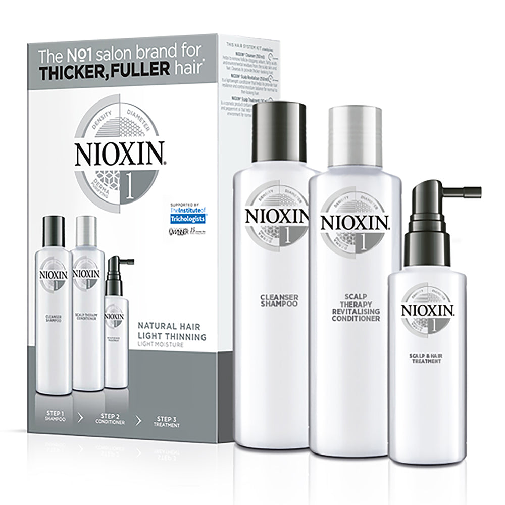 Nioxin System 1 - Belle Hair Extensions