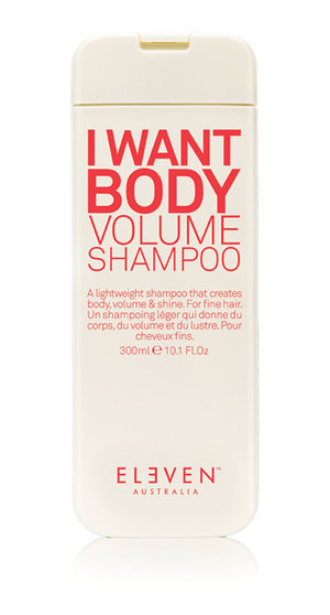 I Want Body Volume Shampoo - 300ML - Belle Hair Extensions