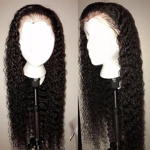 (Raw indian) lace front Wigs