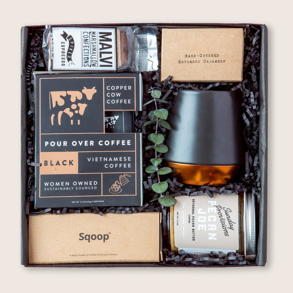 Ultra deluxe coffee gift set.