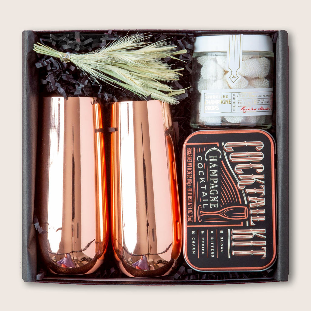 Champagne inspired gift set