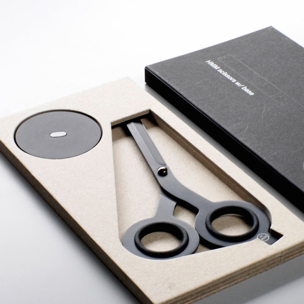 """Floating"" desk scissors from Hmm make a memorable client gift."