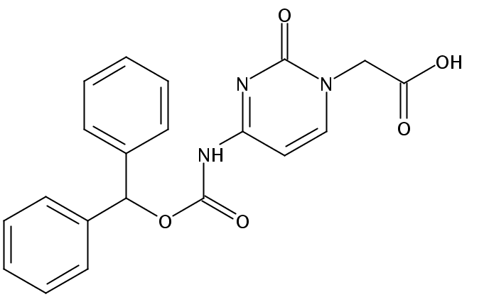 Cytosine-Bhoc Acetic Acid