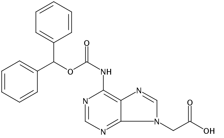Adenine-Bhoc Acetic Acid