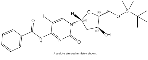(N4-bz)-5'-O-(tert-butyldimethylsilyl)-5-Iodo-2'-deoxycytidine