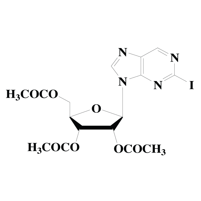 2-Iodopurine riboside triacetate