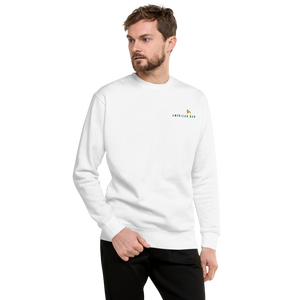 American Bar Embroidered Fleece Pullover