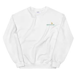 American Bar Embroidered Crewneck Sweatshirt