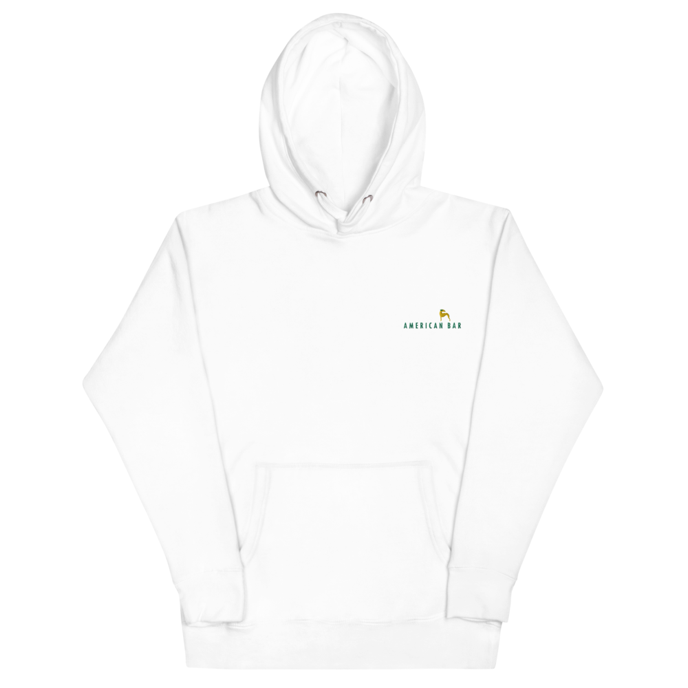American Bar Embroidered Hoodie