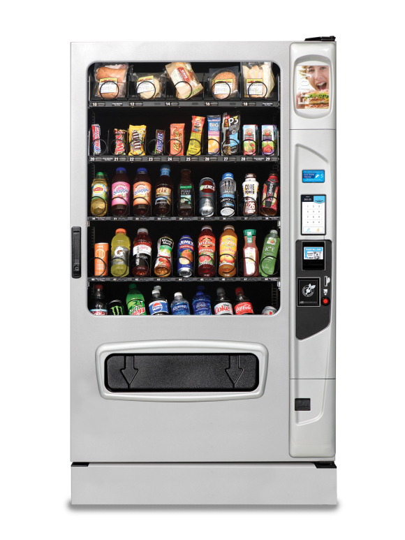 USI Alpine ST5000 Combo Vending Machine