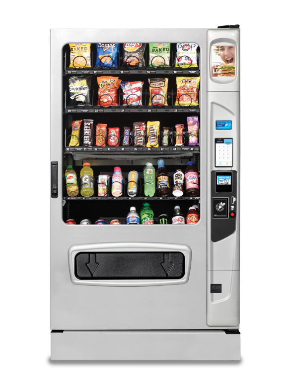 USI Alpine VT5000 Combo Vending Machine