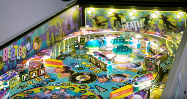Deposit Only Beatles - Beatlemania Pinball! Gold Edition