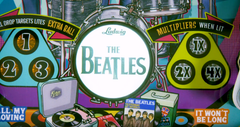 Final Payment Credit Card Beatles Gold - Beatlemania Pinball! Gold Edition