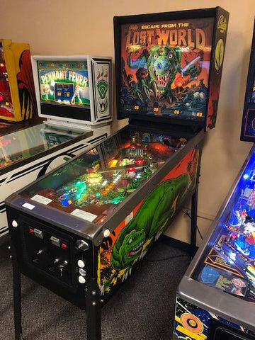 Escape From The Lost World Pinball Used
