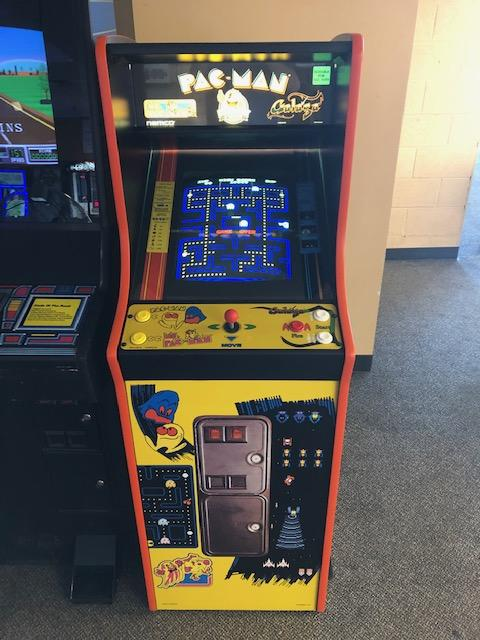 Pac-Man, Ms. Pac-Man, Galaga 25th Anniversary Cabaret Cabinet (Lightly Used)