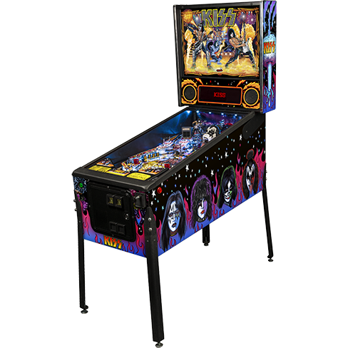 Kiss Pro Edition Pinball Used