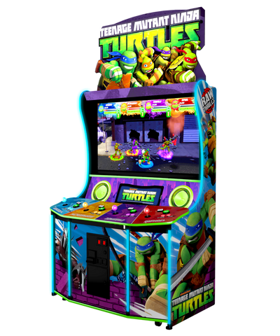 Raw Thrills Teenage Mutant Ninja Turtles