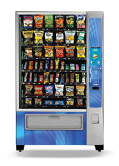 Crane Merchant MEDIA2 Ambient Snack Vending Machine