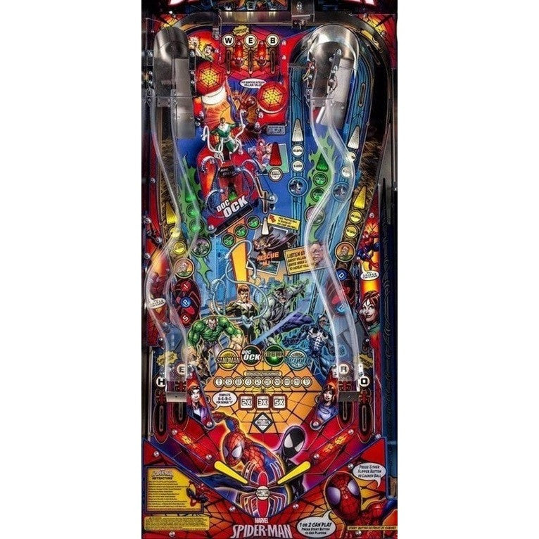 Spiderman Home Pinball