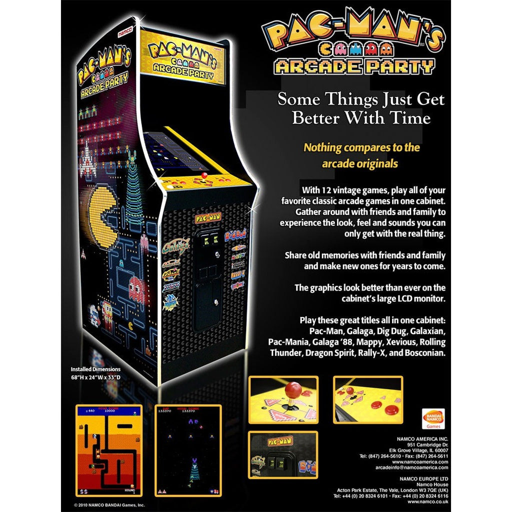 Pac Man Arcade Party Upright