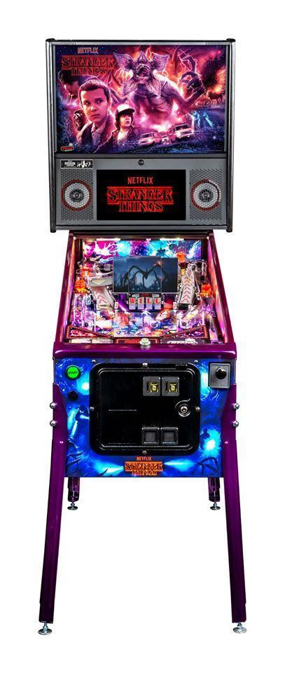 Final Payment Stranger Things Limited Edition Pinball - Credit Card