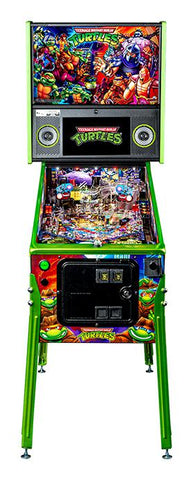 Teenage Mutant Ninja Turtles Limited Edition Pinball- Final Payment Credit Card