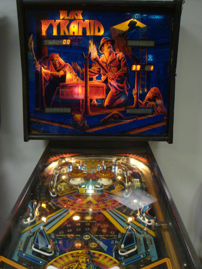 Black Pyramid Pinball