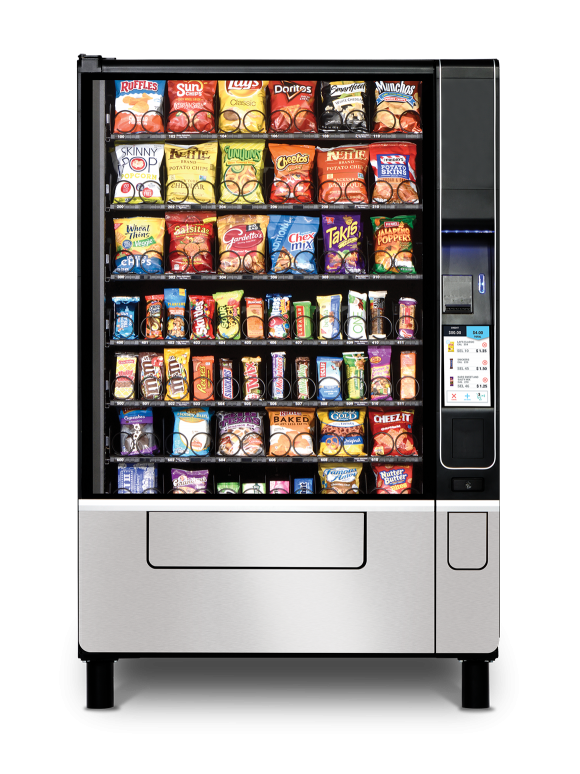 USI Evoke 6 Snack Machine