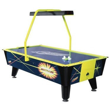 Hot Flash II Black Light Air Hockey
