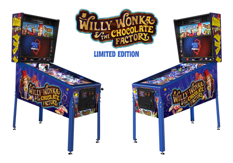 Willy Wonka Pinball - Limited edition  - Final Payment Debit Card
