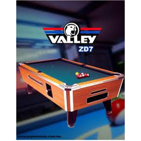 Valley ZD7 Pool Table