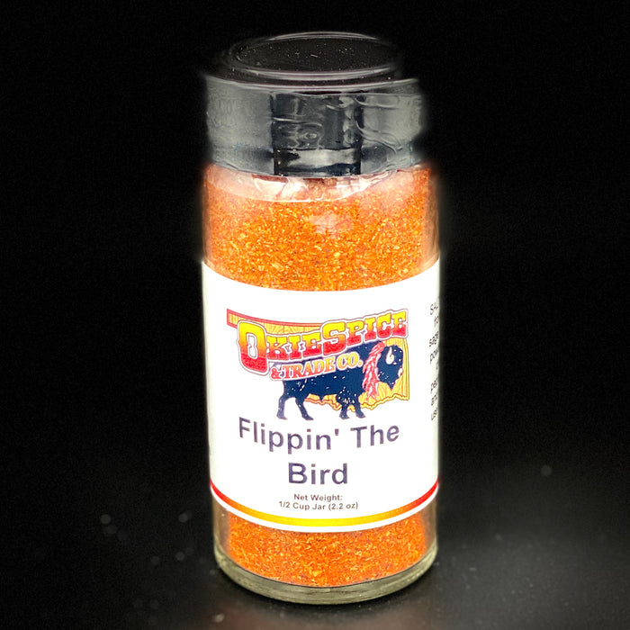 OkieSpice Jarred Spices-Flipping The Bird